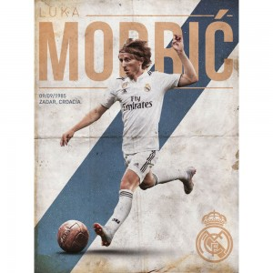 Special product - Print 30X40 Cm Real Madrid Modric