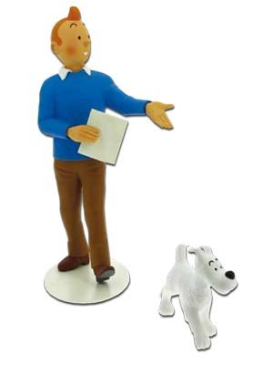 Resina Tintin y Milu