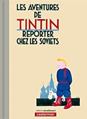 Tintin au pays des Soviets, color - Lujo