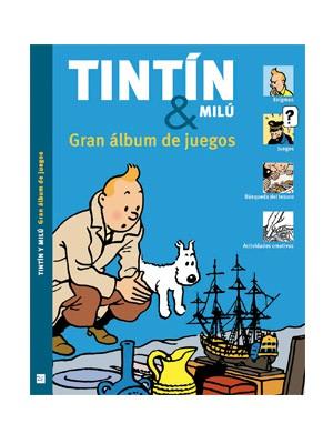 Tintín&Milú. Gran Album de juegos